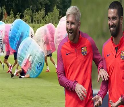 Barça'da çılgın idman!