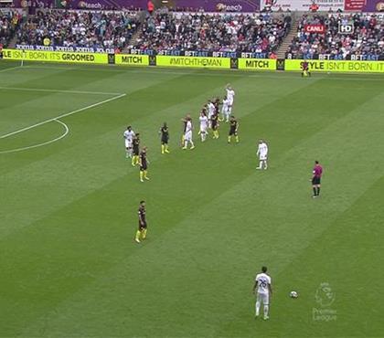 Manchester City savunmasından duran topta nasıl durulmalı dersi!
