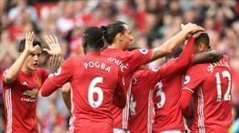 Manchester United - Leicester City: 4-1 (ÖZET)