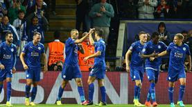 Çakır çaldı, Leicester zirveye yerleşti!