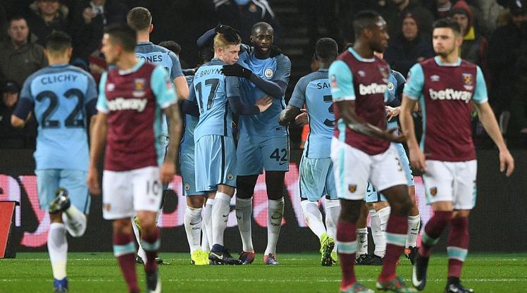 Bilic'e ağır darbe! Manchester City, West Ham'a patladı!