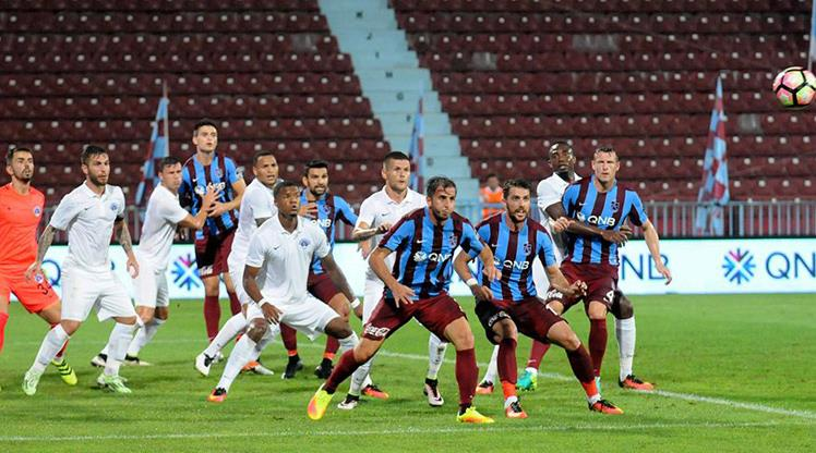 Kasımpaşa'nın rakibi Trabzonspor