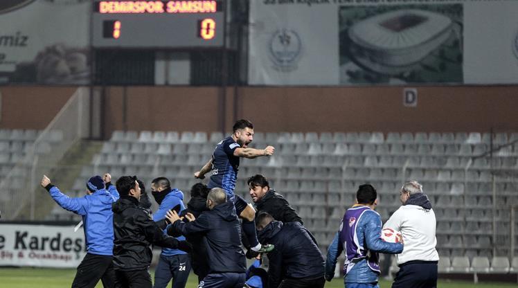 Seyircisiz maç Adana Demirspor'un