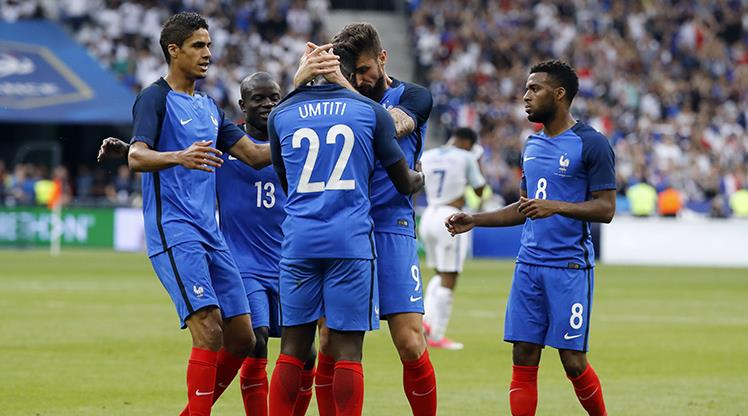Eksik Fransa İngiltere'yi yendi!